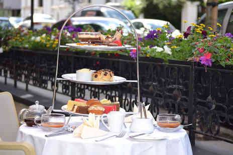 Park Grand Lancaster Gate - Chocolate afternoon tea for two with a bottle of bubbly - Save 60%