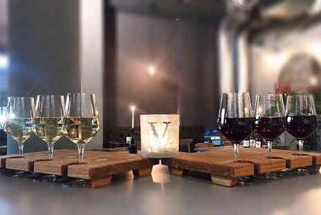 Villiers & Co - Wine tasting each for two people with bread and olives to share - Save 52%