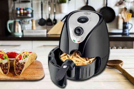 Groundlevel - Thermo 2.2L Black Air Fryer - Save 62%