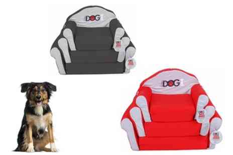 Groupon Goods Global GmbH - Dogi Medium or Large Fold Out Dog Sofa in Choice of Colour - Save 51%