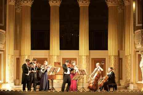 Candlelight Concerts - One price band C, B or A ticket to Bach Violin Concertos by Candlelight with a programme and CD on 13 October - Save 44%