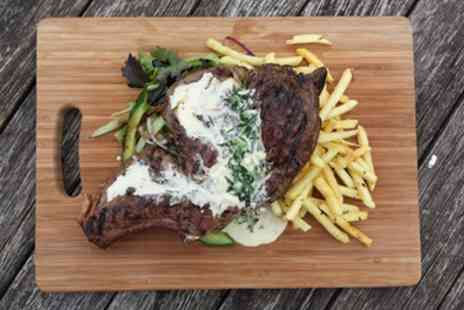 The Bear Inn - Steak with Glass of Wine for Two - Save 42%