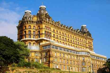 Britannia Grand Hotel Scarborough - One or Two Nights Stay for Two with Breakfast, Carvery Dinner and Wine - Save 0%