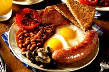 Mango Wine Bar - Full English Breakfast with Tea or Coffee for One or Two - Save 43%