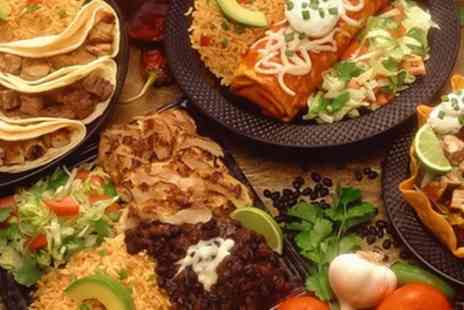 Los Banditos - Mexican Meal with Cocktails for Two or Four - Save 53%