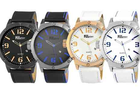 Groupon Goods Global GmbH - One or Two Raptor Unisex Watches in Choice of Colour - Save 70%