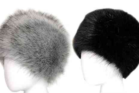 Groupon Goods Global GmbH - Faux Fur Cossack Hat - Save 80%