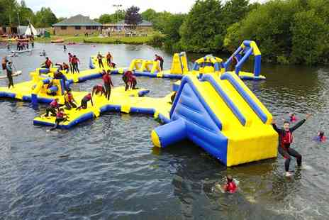 National Water Sports Centre - Lagoon Wipeout Entry for Four, Six or Eight - Save 28%