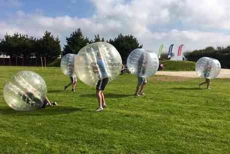 Stay Active Adventures - Zorbing Experience for Up to 15 - Save 50%