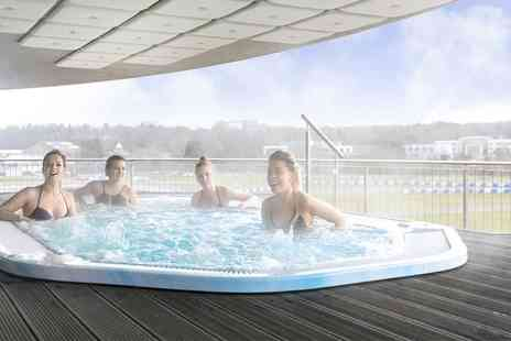 Brooklands Hotel - Spa Access with Two Treatments and Breakfast, Lunch or Afternoon Tea - Save 58%