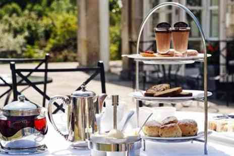 Buxted Park Hotel - Afternoon tea & bubbly for 2 at Sussex mansion - Save 43%