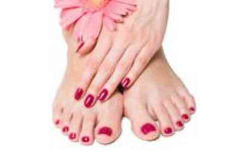 Giblin Hall - Shellac manicure and pedicure - Save 63%