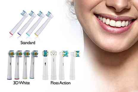 Ugoagogo - Eight pack of Oral B compatible toothbrush heads - Save 0%