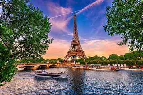Crystal Travel - Two or three night boutique Paris getaway with return Eurostar transfers - Save 39%