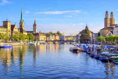 Weekender Breaks - Two night Zurich, Switzerland break with a Rhine Falls day trip, flights and trains - Save 0%