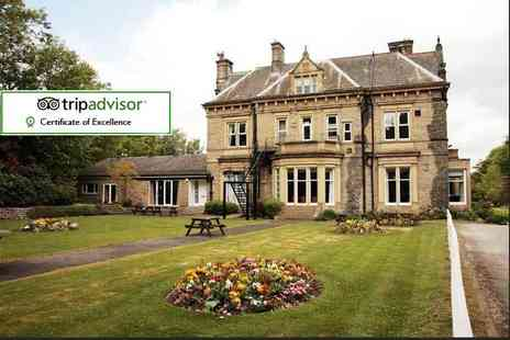 Durker Roods Hotel - One or two night stay for two including breakfast, two course dinner and bottle of wine - Save 46%