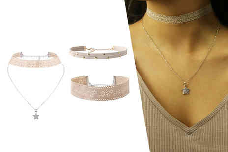 My Boutique Store - Three piece choker set - Save 88%