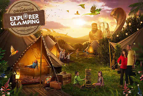 Chessington World of Adventures Resort - Overnight Explorer Glamping break for a family of up to four with two day entry to Chessington Theme Park, Zoo and SEA LIFE centre - Save 0%