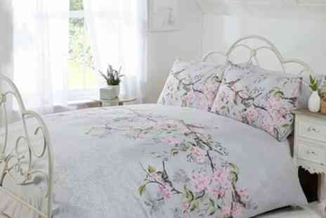 Groupon Goods Global GmbH - Eloise Duvet Cover Set in Choice of Size and Colour - Save 67%