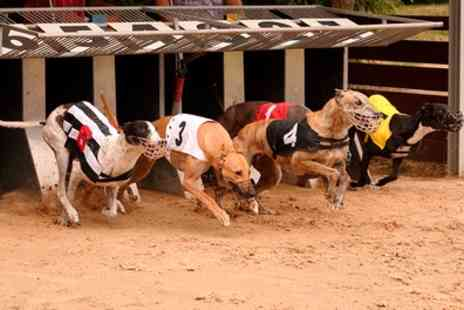Doncaster Greyhound Stadium - Greyhound Races with Programme, Meal and Drink for Up to Six - Save 68%
