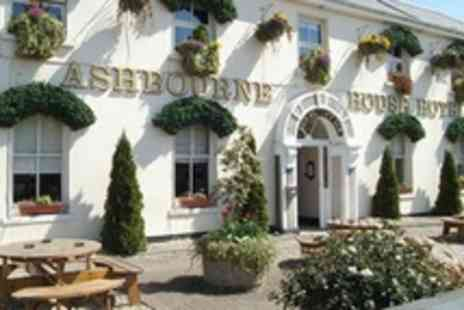 Ashbourne House Hotel - Two Night Stay For Two With Three Course Dinner and Breakfast  for a midweek stay - Save 66%