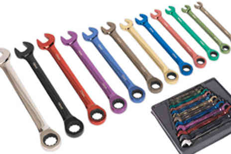 M&M Deals - 12 Piece Combination Ratchet Spanner - Save 13%