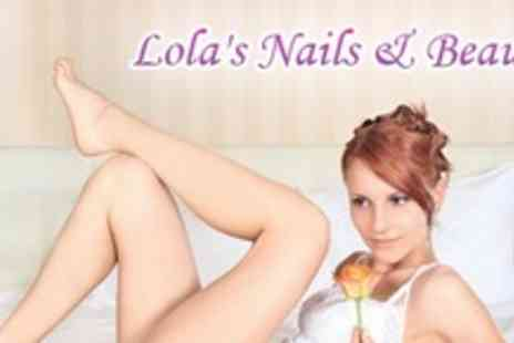 Lolas Nails & Beauty - Half Leg Wax Plus Bikini Brazilian Wax - Save 59%