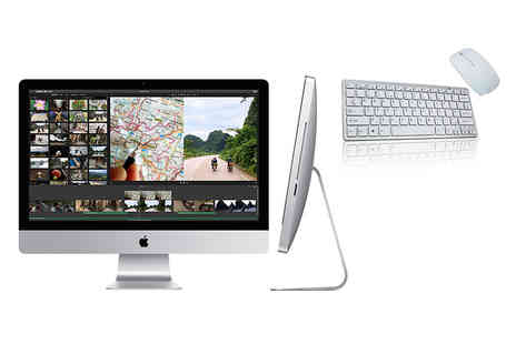 The IT Refurbisher - 21.5 inch 500GB 4GB RAM Apple iMac with a non Apple wireless keyboard and mouse - Save 48%