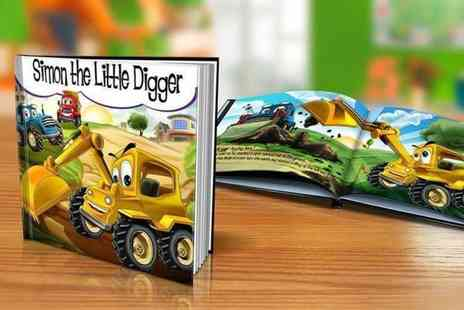 Eastmon Online - Softback or hardback kids personalised storybook - Save 67%