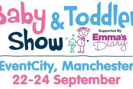Baby and Toddler Show - Ticket to Baby and Toddler Show on 22 to 24 September - Save 38%