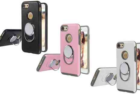 Groupon Goods Global GmbH - Magnet Ring Case for iPhone 6 or 6 Plus or 7 or 7 Plus - Save 0%