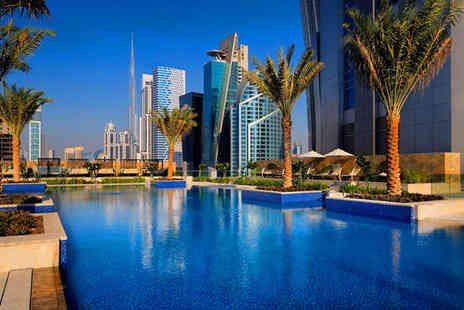 JW Marriott Marquis Dubai - Five Star Luxury Stay with 14 Restaurants and Spa Stay For Two in Dubai - Save 59%