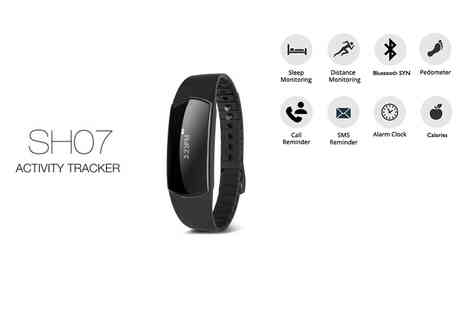 Toy Meets World - Eight in One Bluetooth activity tracker get active - Save 83%