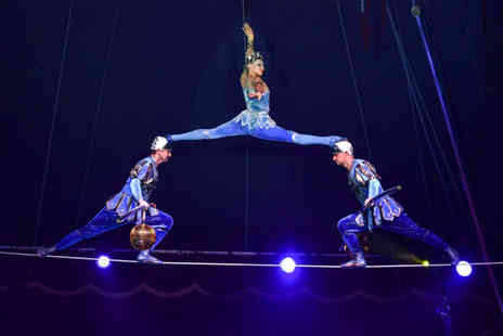 The European Events Corporation - Grandstand ticket to the Moscow State Circus production of Gostinitsa - Save 50%