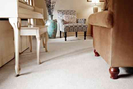 Bristol Residential Cleaning - Carpet Cleaning for Two Rooms with Optional Service for Stairs - Save 40%