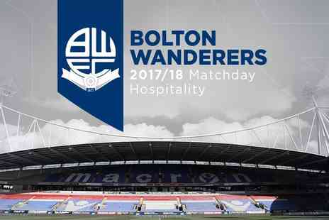 Bolton Wanderers FC - One or two VIP tickets to see Bolton Wanderers FC v Sheffield United on 12 September 2017 To 10 April 2018 - Save 20%