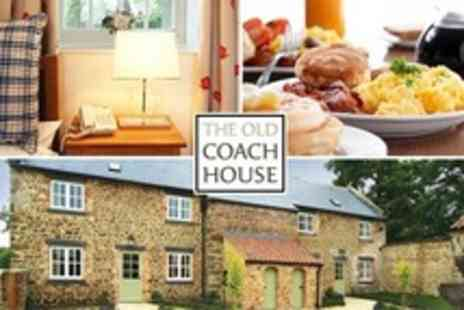The Old Coach House - In Ripon Three Night Stay For Two With Breakfast - Save 50%