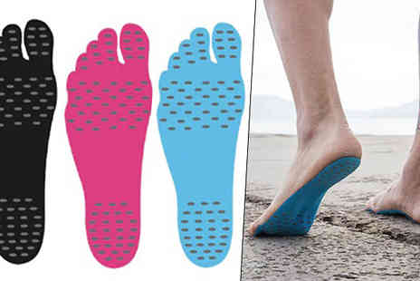 Hawt Online - Hypoallergenic Stick On Soles Available in Three Sizes - Save 60%