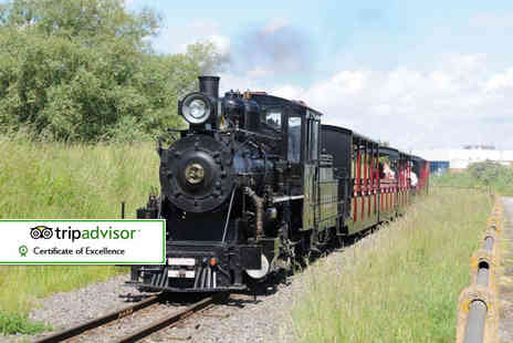 Cleethorpes Coast Light Railway - Unlimited day pass to Cleethorpes Coast Light Railway for one adult and one child - Save 56%