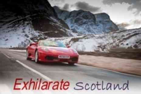 Exhilarate Scotland - Supercar Driving in Aberdeenshire - Save 78%