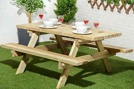 Changing Sofas - 4ft, 5ft or 6ft table heavy duty picnic bench table- Save 57%