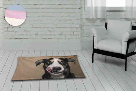 Great Photo Gifts - Personalised pet photo blanket - Save 46%