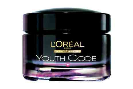 Groupon Goods Global GmbH - One or Two LOreal Paris Youth Code Night Creams 50ml - Save 50%