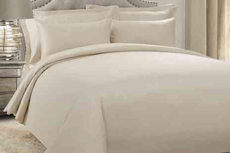 Groupon Goods Global GmbH - 200TC Egyptian Cotton Pillowcases, Sheet or Duvet Cover Set - Save 80%