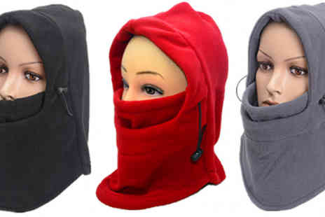 eFindbest - Fleece Balaclava Available in 3 Colours - Save 65%