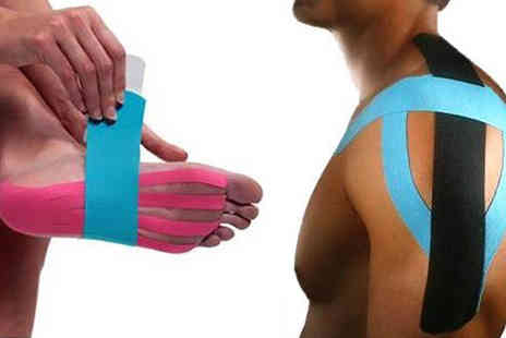 121 Mart - 2 Sets of Kinesiology Pre Cut Tape available in 6 Options - Save 63%
