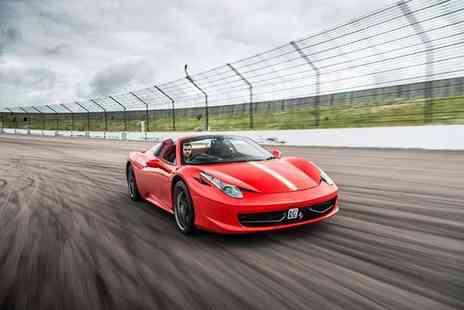 Buyagift - Ferrari 458 driving thrill experience with a high speed passenger ride - Save 0%
