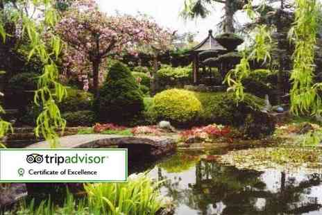 Pure Land Meditation Centre - Entry for two adults to Pure Land Japanese Garden or family entry for two adults and two children - Save 36%