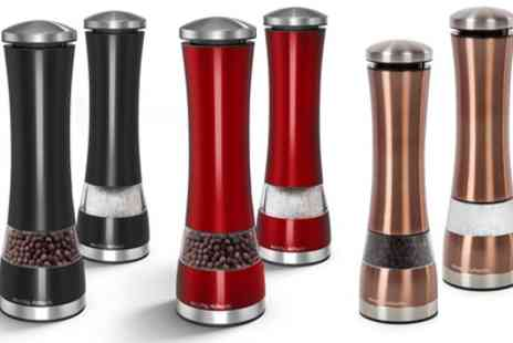 Groupon Goods Global GmbH - Morphy Richards Electric Salt and Pepper Mill - Save 68%