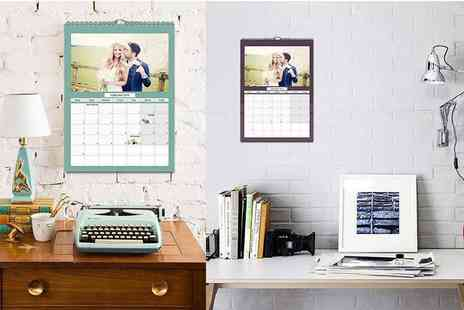 Smiley Hippo - Personalised A4 photo calendar or A3 calendar make a great personalised gift - Save 64%